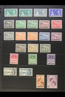 1913-37 COMPLETE MINT KGVI COLLECTION Presented On A Pair Of Stock Pages. Includes A Complete Run From The 1937...