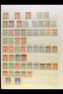 1867-1913 MINT COLLECTION On A Stock Page, Inc 1867 1d (traces Of Gum), 1873-79 1d Unused, 1881 1d (trimmed Perfs...
