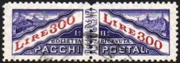 PARCEL POST 1953 300L Violet And Lake, Wmk Winged Wheel, SG P455, Sass 36, Very Fine Used Complete PAIR. For More...