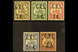 "1914 ""G.R.I."" Surcharges Set To 2½d On 20pf (SG 101/04), Plus 6d On 50pf (SG 108), Fine Fresh Mint. (5..."