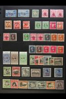 1902-1953 FINE MINT COLLECTION Presented On A Pair Of Stock Pages. Includes 1902 2½d Blue Plus A No Stop...
