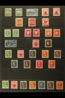 1902 - 1932 FRESH MINT SELECTION Attractive Range With Many Complete Sets Includes 103 Set, 1911 Ed VII Set, (2),...