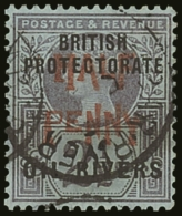 1893 ½d On 2½d Type 9 Surcharge In Vermilion, SG 31, Very Fine Used. For More Images, Please Visit...