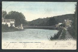 +++ CPA - AYWAILLE - Pont Suspendu Sur L'Amblève   //