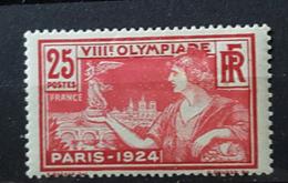 YT184 - Jeux Olympiques De Paris - 25c - Rouge - Neuf Charniere - Frankrijk