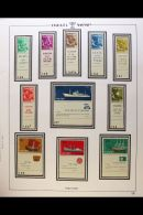 1958-98 An Extensive Mint Never Hinged Collection Displayed In Four Printed Albums, Mainly With Tabs, 1963 FFH...