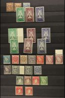 1922-65 MINT COLLECTION Useful Range On Stock Pages, Includes 1937 High Values Set, 1940-68 Definitives (missing...