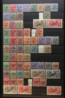 1922-1925 OVERPRINTED ISSUES. FINE MINT COLLECTION On A Stock Page, All Different, Inc 1922 Dollard Black Opts...