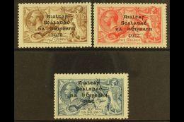 1922 Dollard Seahorses Set, SG 17/21, Fine Mint, The 5s On Pseudo-laid Paper. (3) For More Images, Please Visit...