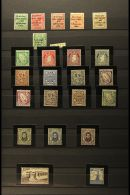 1922 -71 NEVER HINGED MINT COLLECTION Includes 1922 Thom Overprints Set (1s Tiny Gum Thin), 1922-3 ½d With...