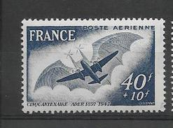 FRANCE 1948  POSTE AERIENNE YT 23  Neuf** Cote 2015 = 2  € à  20 %