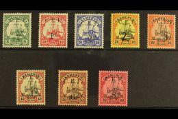1915 ½d On 5pf To 8d On 80pf, SG B2/9, Fine Mint. (8) For More Images, Please Visit...