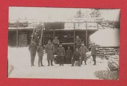 Riga  --  Carte Photo Soldats Allemands Près De Riga  --  Janvier 1917 --  Res Inf Regt 24 - Lettonie
