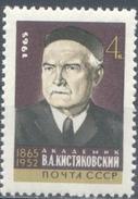 USSR, 1965 SK № 3212 100th ANNIVERSARY OF BIRTH OF PHYSICAL CHEMIST V.KISTYAKOVSKOGO