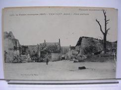 02 - LA FRANCE RECONQUISE (1917) - CHAVIGNY - PLACE PUBLIQUE - ANIMEE (SOLDAT) - France