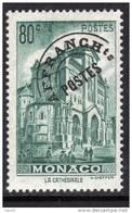 MONACO Préoblitéré N° 2 XX  80 C. Bleu-vert TB