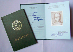 Glénat 1985 > Passeport Publicitaire Pour La Série LOUIS LA GUIGNE De Frank GIROUD Et JEAN-PAUL DETHOREY - Objets Publicitaires