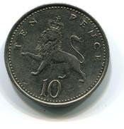 2002 Great Britain 10p Coin - 1971-… : Monnaies Décimales