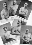 Les Grands Lutteurs - Photos Découpées Dans Revues De Photo (45 Français+ 15 étrangers)copies De La Collection WALERY - Lutte (Wrestling)