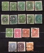 MEXIQUE - MEXICO - COLLECTION D'ANCIENS – 1884 / 1885 N° 77 à 86 Et 92 à 98 - Oblitérés - Mexique