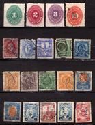 MEXIQUE - MEXICO - COLLECTION D'ANCIENS – 1882 / 1923 N° 75 Et Plus – 19 Timbres Oblitérés - Mexique