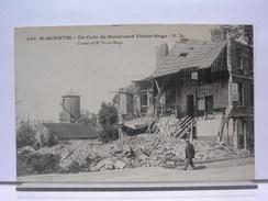 02 - ST QUENTIN - UN COIN DU BOULEVARD VICTOR HUGO - ANIMEE - Saint Quentin