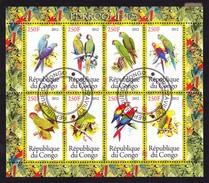 Republique Du Congo 2012 - Peroquets