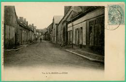 Saint Mards En Othe - Aube - Vue De St Mards - Boucherie   - Animée - - Troyes