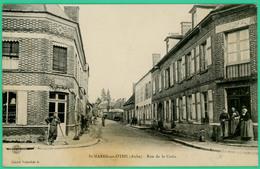 Saint Mards En Othe - Aube - Rue De La Croix   - Animée - - Troyes