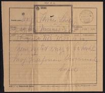 TELEGRAPH TELEGRAM 1938 Hungary - Tiszaberczel - Télégraphes