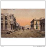 MLLLTPA4905C-LFT4599TABU.Tarjeta Postal De Melilla..Edificios,calle,personas,carrillos,animales,burro.CARRETERA DE NADOR - Burros