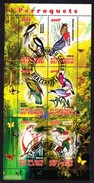 Republique Du Congo 2012 - Perroquets