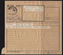 TELEGRAPH TELEGRAM 1943 Hungary - Budapest - Close Label Vignette - 1943 Ed. - Télégraphes