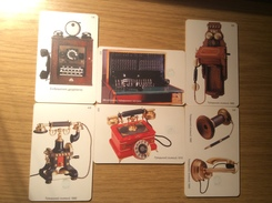 6 Different Phonecards Series Greek Old Phones  - 3 €  -   Fine Used -    See Picture - Griechenland