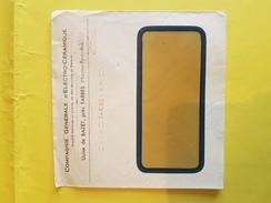 LSC Enveloppe Commerciale / Usine De BAZET Près TARBES / Affranchissement Mécanique   (REF 109) - Autres