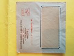 LSC Enveloppe Commerciale / ETS FRANGIALLI Rue D'Alésia PARIS XIV  / Affranchissement Mécanique   (REF 110) - Autres