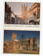 4 Set Lotto Canterbury  Cathedral England 1986 Photo Cornish Not Write Whiteway Publications 11,5x16,5 - Canterbury