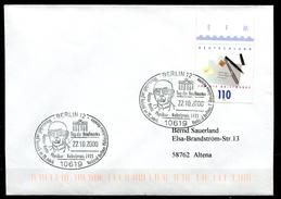 "Germany 2000 Sonderbeleg""Tag Der Briefmarke M.Mi.Nr.2148 U.SST""Berlin-Gustav Hertz,Physiker,Nobelpreis""1 Beleg - Premio Nobel"