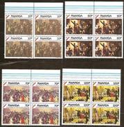 Rwanda Ruanda 1990 Yvert 1289-1292 OCBn° 1356-1359 *** MNH 4 Series Cote 34 Euro - Rwanda