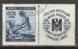 Böhmen Und Mähren Zusammendruck W Zd 9 O