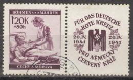 Böhmen Und Mähren Zusammendruck W Zd 13 O