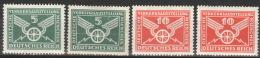 Deutsches Reich 370/71X+Y *