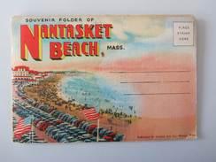 Souvenir Folder Of Nantasket Beach Mass. 20 Views - Etats-Unis