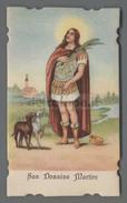ES3311 S. SAN DONNINO MARTIRE FUSTELLATO NATALE SALVARDI BOLOGNA - Religione & Esoterismo