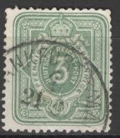 Deutsches Reich 31a Plattenfehler II O