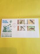 """SEYCHELLES FDC 16/10/1978 Timbres YT 401à 404""""Oiseaux, Tortue, Fleur Des Seychelles """"  (REF 131) - Seychelles (1976-...)"""