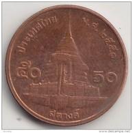 @Y@  Thailand   50 Satang    ( 5046 ) - Thailand
