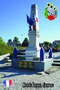 Carte Postale, Militaria, Monuments, World War I Monuments, France (Calvados), Noyers-Bocage - Monuments Aux Morts