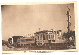 CPA  Exposition Internationale Paris 1937 Pavillon De La Marine Marchande, N°235 - Ausstellungen