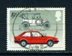 GREAT BRITAIN  -  1982  Motor Industry  191/2p  Used As Scan - Gebruikt